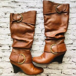 🧨Pesaro Wedge Boots